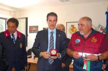 Premiazione CONSAP presso Associazione Nazionale della Polizia di Stato - Sezione Fiumicino