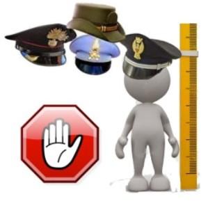 Limiti Altezza Polizia