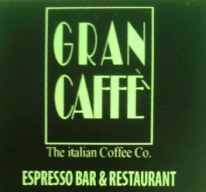 """Gran Caffè """"Espresso Bar & Restaurant"""" di Via delle Quattro Fontane 48"""