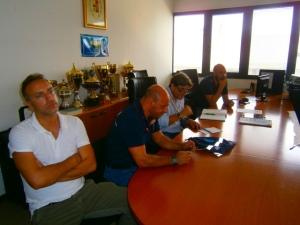 Reparto Prevenzione Crimine Lazio - Assemblea CONSAP del 4 settembre 2015. Federico Roberti, Claudio Astorino, Massimo Vannoni e Andrea De Meo
