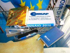 Gadgets CONSAP Roma 2016