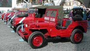 Jeep Willys Polizia