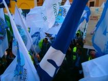 Manifestazione Nazionale CONSAP contro il perdurare del blocco stipendi Forze di Polizia
