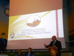 Conferenza Romana per la Sicurezza del Giubileo della Misericordia