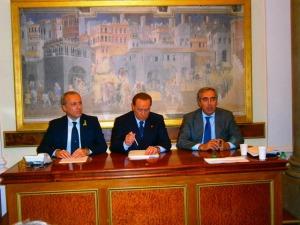 Consulta Sicurezza Forza Italia - Palazzo Grazioli - Incontro CONSAP