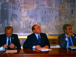 Consulta Sicurezza Forza Italia - Il Presidente Silvio Berlusconi