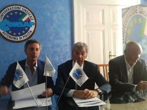 Giorgio Innocenzi (Consap) e il Consigliere Regione Lazio Michele Baldi
