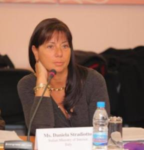 dott.ssa Daniela Stradiotto, Direttore del Servizio di Polizia Scientifica
