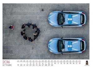 Calendario Polizia di Stato 2016 realizzato da Massimo Sestini