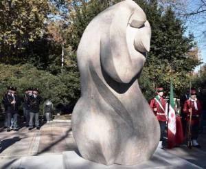 Monumento Caduti Forze dell'Ordine a Roma - Piazza della Libertà (quartiere Prati)