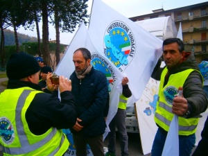 Manifestazione a Pontassieve