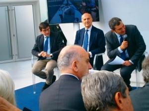 Calendario Polizia di Stato 2016 - Presentazione, interventi di Massimo Sestini, Alessandro Pansa, Mario Calabresi, Giacomo Guerrera