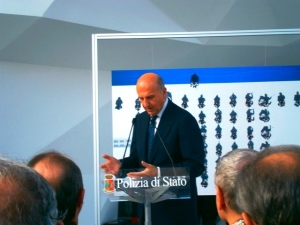 Calendario Polizia di Stato 2016 - Presentazione, intervento del Capo della Polizia, Pref. Alessandro Pansa