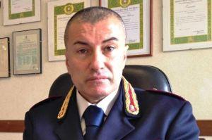 Il Comandante del I° Reparto Mobile di Roma, Dr. ClaudioMastromattei