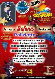 Arriva la BEFANA festa del POLIZIOTTO CONSAP 2016