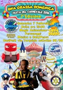 Una Grassa Domenica festa del Carnevale 7° edizione
