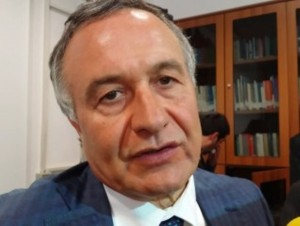 Il Vice Ministro dell'Interno Filippo Bubbico