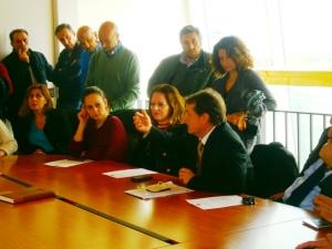 Affollata assemblea sindacale CONSAP al Compendio Castro Pretorio