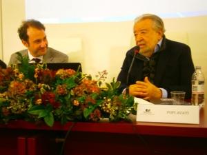 Il Presidente dell'Universtà PEGASO con il regista Pupi Avati