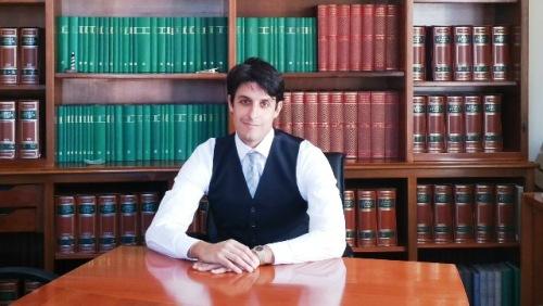 Nella foto l'Avvocato Vittorio Palamenghi dello Studio Legale De Iure di ROMA in convenzione con la Segreteria Provinciale CONSAP