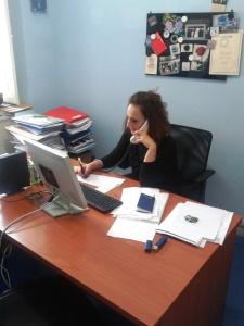 Cento Maria Carolina Coordinatrice Provinciale CONSAP Roma