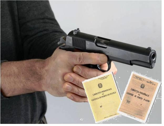 Porto d armi certificato di idoneit per gli agenti di p - Porta d armi uso sportivo ...