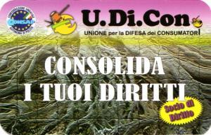 TESSERA U.DI.CON. - CONSAP ROMA