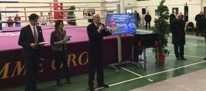 Roma, la Polizia di Stato inaugura il Palazzetto Amerigo Vespucci, protocollo con la Federazione Pugilistica Italiana e Fiamme Oro alla presenza del Capo della Polizia Pref. Pansa, plauso all'iniziativa della CONSAP