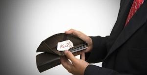 Pensioni e stipendi ridotti a zero