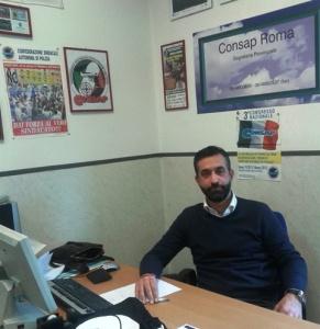 IL Coordinatore Provinciale Segretari Locali CONSAP Polizia Stradale Dott. Gianfranco Rosati