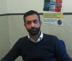 Il Coordinatore CONSAP dei Segretari Locali della Polizia Stradale di Roma dr Gianfranco Rosati