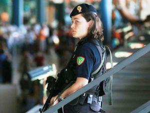 Polizia di Frontiera a Fiumicino