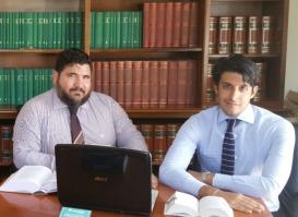 Gli Avvocati Vittorio Palamenghi e Pasquale Pittella dello STUDIO LEGALE DE IURE- PP&Counselors