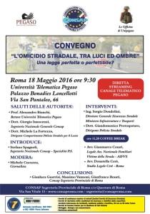 Convegno Omicidio CONSAP 2016