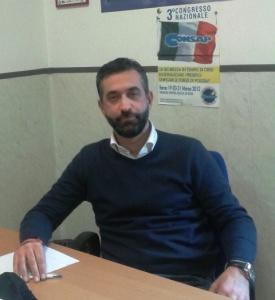 Dr. Gianfranco Rosati Coordinatore Provinciale CONSAP Roma - Specialità P.S.