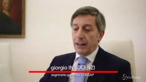 Giorgio Innocenzi, Segretario Generale Nazionale CONSAP - Confederazione Sindacale Autonoma di Polizia