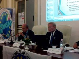 Convegno Pegaso - Omicidio Stradale - Il Magistrato Arcibaldo Miller e il dr. Giandomenico Protospataro