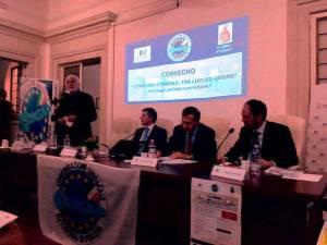 Convegno Pegaso - Omicidio Stradale - Il Rettore Prof. Alessandro Bianchi