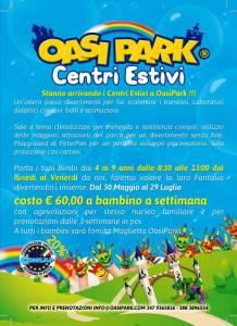 Centri Estivi OASI PARK - Convenzione CONSAP Roma