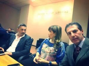 Delegazione dal Segretario Nazionale Elisabetta Ricchio, dal Segretario Regionale Lazio Andrea Innocenzi, dal Segretario Generale Aggiunto di Roma Gianluca Guerrisi