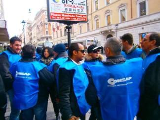 Polizia Stradale del Lazio, domani volantinaggio e sit-in di protesta CONSAP