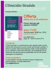 """""""L'Omicidio Stradale"""" di Francesco Bartolini"""