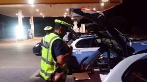 Agenti della Polizia Stradale in operazioni di controllo