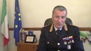 Il Dr. Claudio Mastromattei, Comandante del I° Reparto Mobile - ROMA