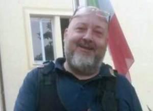 Il compianto collega Turra morto a Ventimiglia