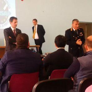 Reparto Mobile di Roma, partecipata assemblea sindacale CONSAP alla presenza del Comandante Dr. Claudio Mastromattei e del Vice Capo di Gabinetto della Questura di Roma Dr. Giuseppe Moschitta