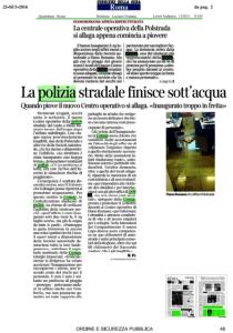 Articolo del Corriere della Sera