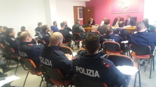 Assemblea Sindacale CONSAP al Reparto Prevenzione Crimine Lazio