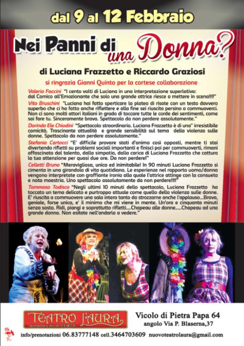 Luciana Frazzetto in  NEI PANNI DI UNA DONNA?