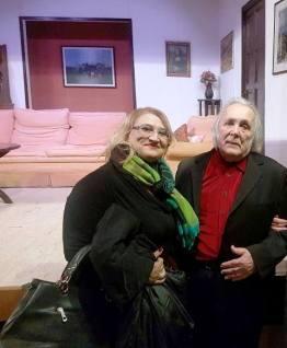 Nella foto Cinzia Ravaglia (Segreteria Generale CONSAP) con il Maestro Alfiero Alfieri